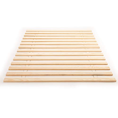 Classic Brands Xtreme Heavy-Duty Solid Wood Bed Support Slats | Bunkie Board, Full