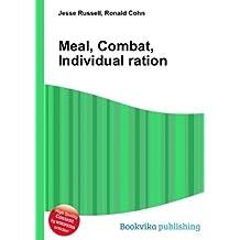 Meal, Combat, Individual ration