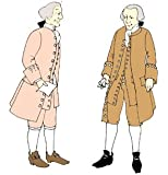 1760's Frock Coat or Pirate's Coat Pattern