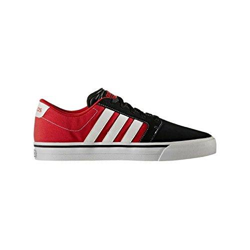 adidas Cloudfoam Super Skate, Zapatillas Hombre, Rojo (Escarl/Ftwbla/Negbas), 46 EU