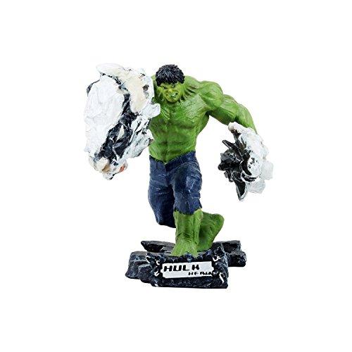 Wowheads Hulk Car Smash  1 8 Scale Small Figurine  Statue  Non  Bobblehead  Marvel Disney Avengers  Fragile Resin Made