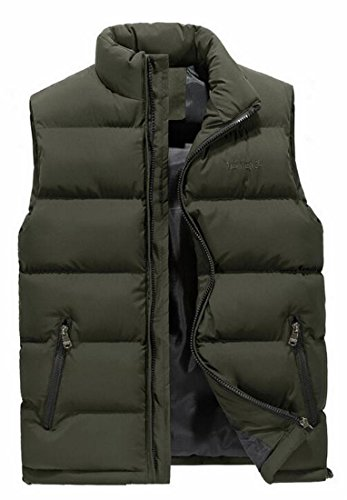 Stand 2 Jacket Up Fashion today Down Quilted Collar Outdoors UK Vest Mens XvqIP
