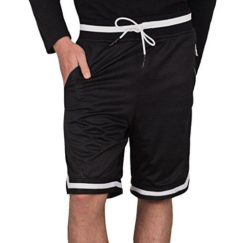 Jordan Craig Poly Mesh Shorts with Zipper Pockets by Jordan Craig