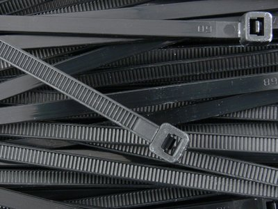 UPC 846949006495, 8 Inch Black Standard Nylon Cable Tie - 1000 Pack