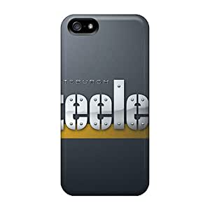 Durable Hard Phone Cases For Iphone 5/5s With Allow Personal Design High-definition Pittsburgh Steelers Image CharlesPoirier