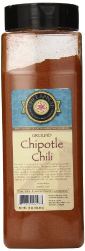 (Spice Appeal Chipotle Chili Ground, 16 Ounce)