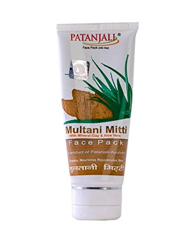 Patanjali Multani Mitti Face Pack 60 Grams Import It All