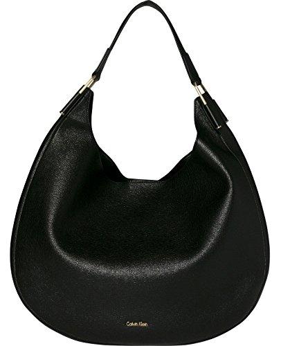 Calvin Klein Arch Shopper Bolso totes 46 cm Negro
