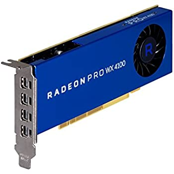 AMD 100-506008 Radeon Pro WX 4100 4GB Workstation Graphics Card