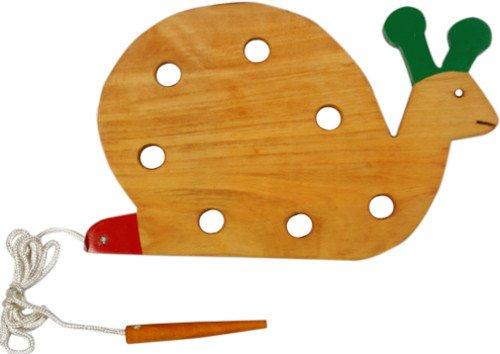 Little Genius Lacing Snail, Multi Color (Big) (B009REPRM6) Amazon Price History, Amazon Price Tracker