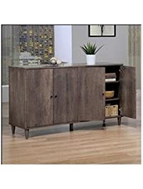 Charcoal Grey Buffet. This Dining Room Furniture Features An Elegant  Distressed Wood Finish. Enjoy