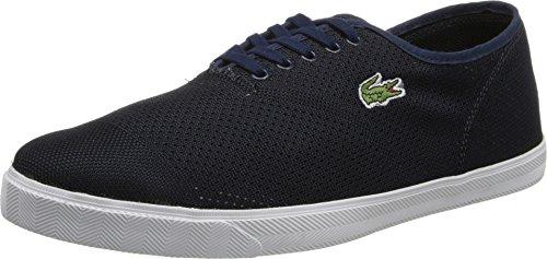 Lacoste Mens Rene Ii Mesh Piq Sneaker Blu Scuro / Blu Scuro 11 D