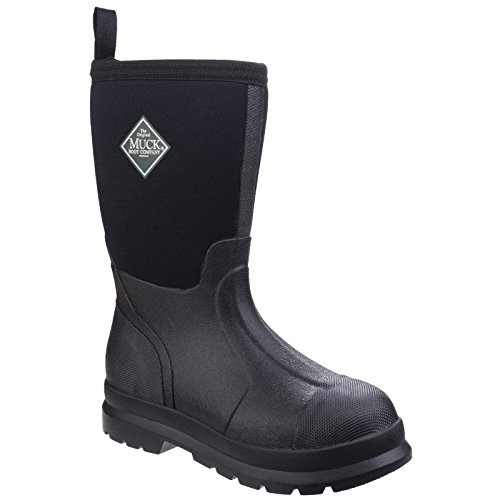 Muck Boot Childrens/Kids Chore Wellington Boots (2 US) (Black) by Muck Boot