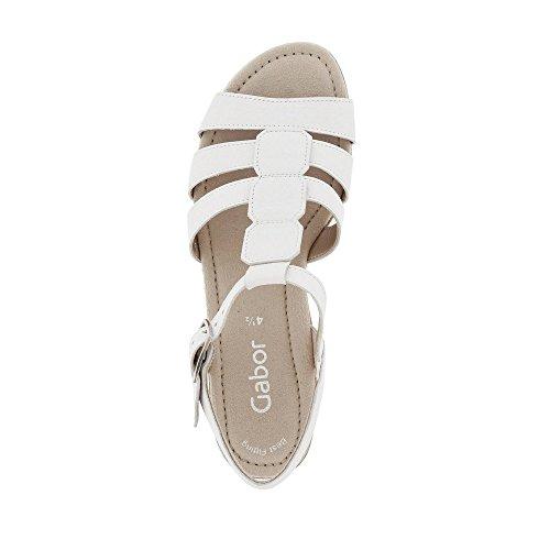 Blanco plana cómodo sandalias sandalias 550 best zapatos De Cuña Gabor übergrößen Verano Mujer Fitting Cuña sandalias Del 24 wSBcpqT