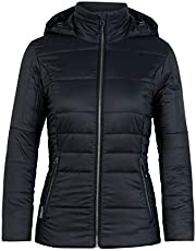 Icebreaker Merino Women's Stratus X Hooded Jacket, Merino Wool, Down Alternative
