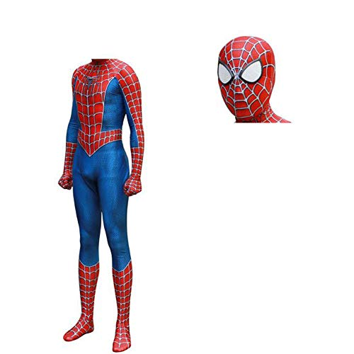 Halloween Unisex-Adult Spider-Man Cosplay Catsuits Play Costumes (S, Separation) -