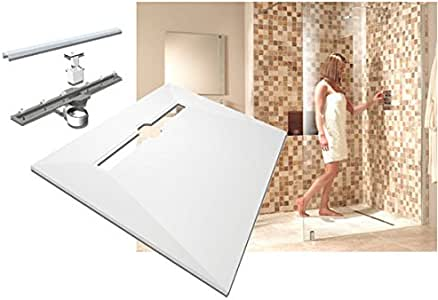 Impey Aqua Decor - Bandeja para cuarto de baño (1200 x 900 mm): Amazon.es: Hogar