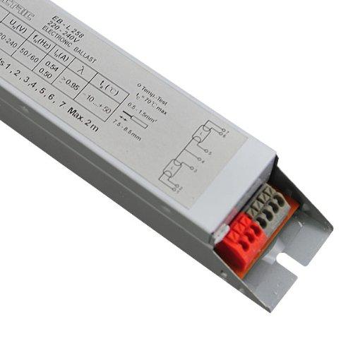 EVG T8 2x58W Elektronisches Vorschaltgerät Leuchtstofflampe NEU ...