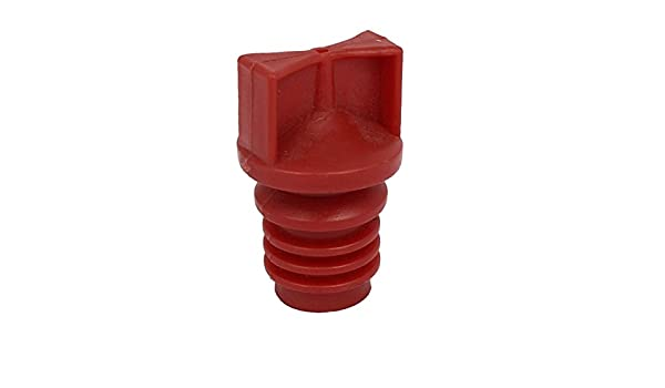 uxcell 18mm Diameter Male Thread Plastic Oil Breather Cap Red for Air Compressor - - Amazon.com
