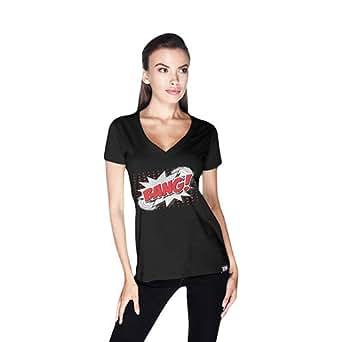 Creo Bang Retro T-Shirt For Women - Xl, Black