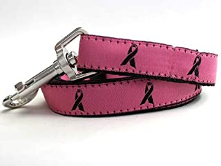 product image for Breast Cancer Awareness Custom Dog Collar (Optional Matching Leash Available)