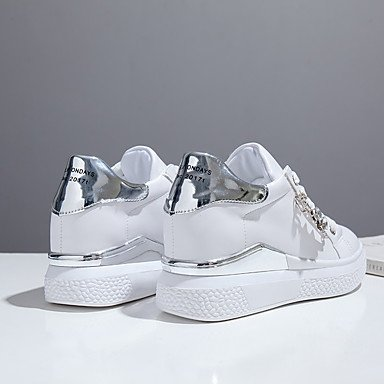 Formales Cordóntacón Mujer Lvyuan Otoño Zapatos ggx Confort Fiesta Paseo Noche Con Pedrería Y Pu Tacones Vestido Silver Casual qUIwawSCx5