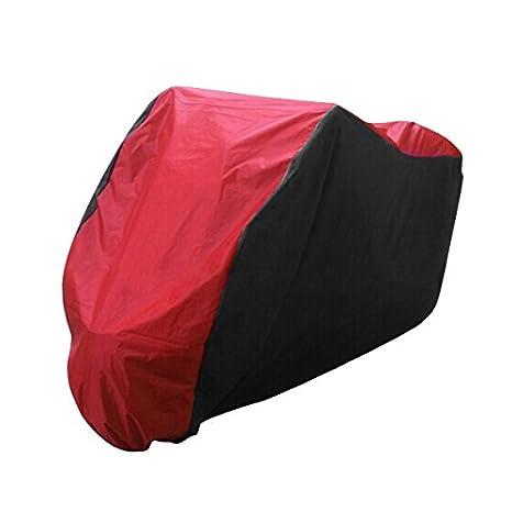 Plata GOZAR Moto Cover XL 2XL 3XL para BMW R1150Gs Aventura R1200Gs R1200Rt//Honda Shadow Spirit Aero Negro XL