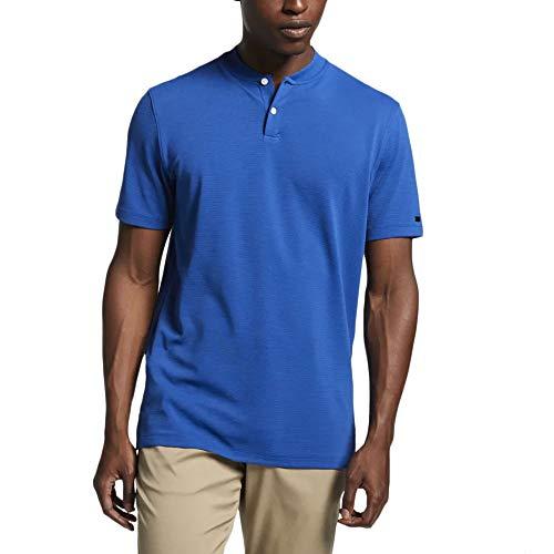 d79f5763 Nike Men's TW Vapor AeroReact Blade OLC Golf Polo (Gym Blue, Large)
