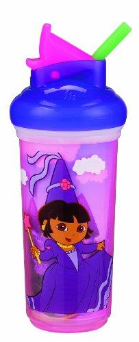 Munchkin Dora l'Explorateur Coupe de paille isolé, 9 onces, les couleurs peuvent varier