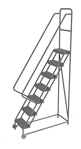 Tri-Arc KDTF107162 - Tilt and Roll Ladder 7 Step Serrated