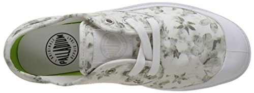 floral Palladium Lp Basses Pampa Femme Blanc Print Sneakers moonbeam white Oxford zqwaxUqfPF
