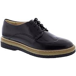 Clarks Zante Zara - Black Leather Womens Shoes 8.5 US