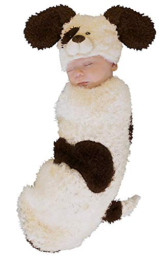 Princess Paradise Baby Cuddly Puppy Deluxe Swaddle