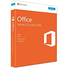 Microsoft Office Home and Student 2016, 1 User, 1 Product Key Card