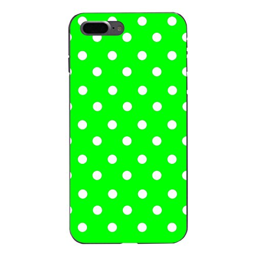 "Disagu Design Case Coque pour Apple iPhone 7 Plus Housse etui coque pochette ""Grün Weiß gepunktet"""