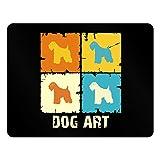 Teeburon Soft Coated Wheaten Terrier DOG ART POP ART Horizontal Sign