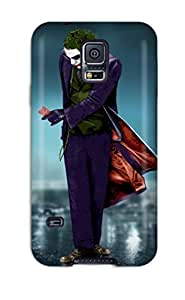 Anti-scratch And Shatterproof The Joker Phone Case For Galaxy S5/ High Quality Tpu Case