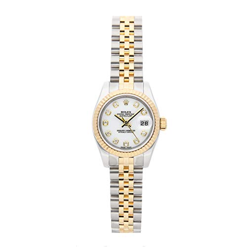 Rolex Datejust Mechanical (Automatic) White Dial Womens Watch 179173 (Certified Pre-Owned)