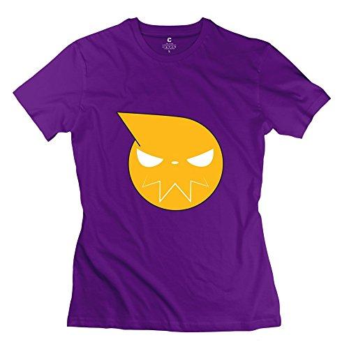 Jiuzhou Women's Tshirt Soul Eater Emblem XS Purple