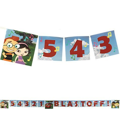Little Einsteins Letter Banner 8ft by Party America (Image #1)