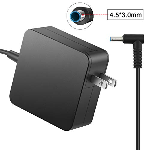 45W Laptop Charger for HP (19.5V 2.31A) Power Adapter Stream 11 13 14/ Split 13 X2/Elitebook Folio 1040 G1/ Pavilion X2 11 13 15/HP Chromebook 14-x Series 14-x013dx (Hp Laptop Charger)