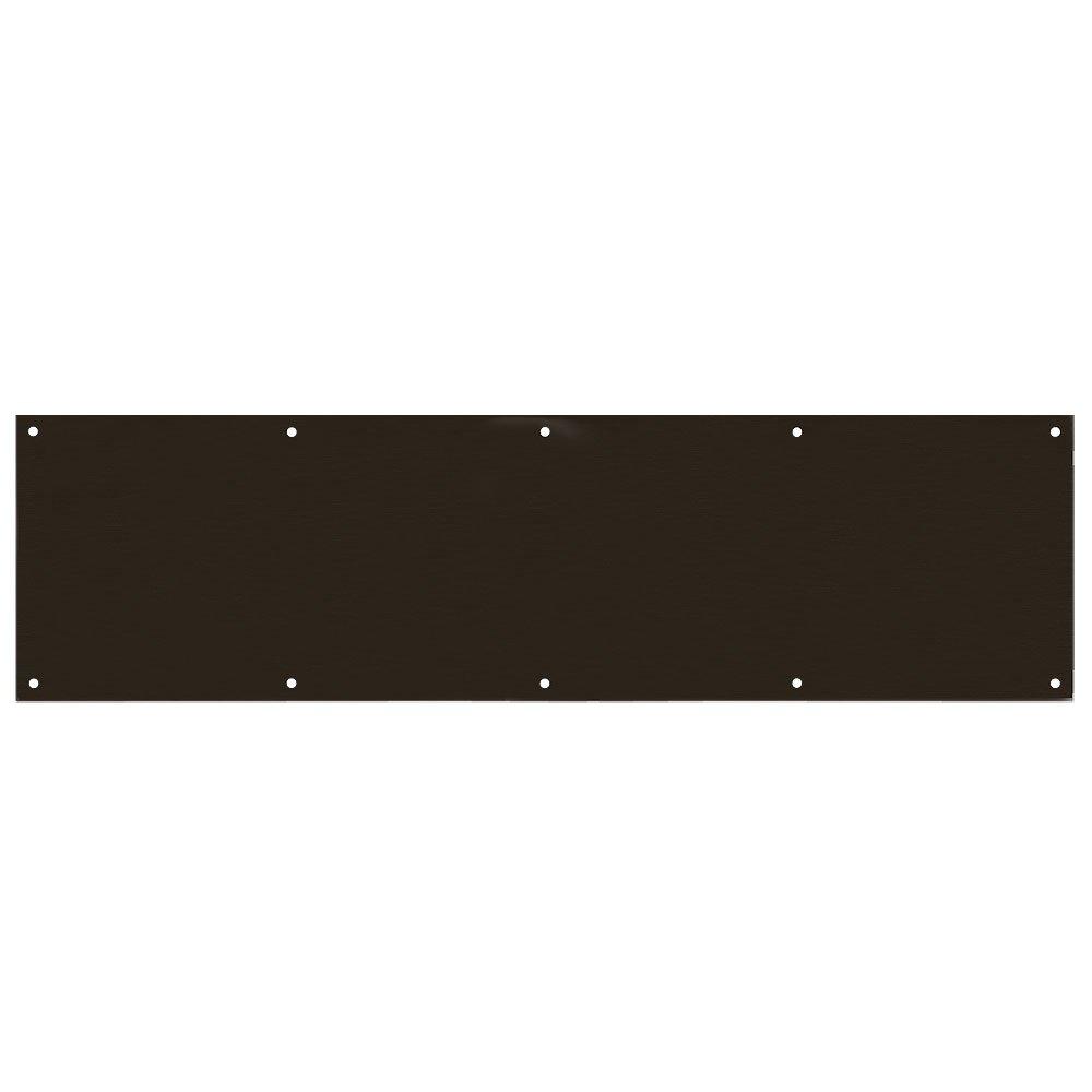 Designers Impressions Oil Rubbed Bronze 8'' x 34'' Kick Plate: 609476