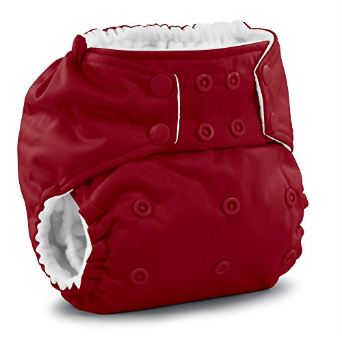 - Rumparooz One Size Cloth Pocket Diaper Snap, Scarlet