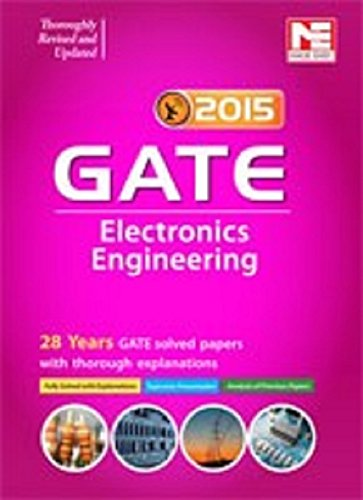 46% discount on GATE - 2015: Electronics Engineering by Made Easy for Rs. 350 at Amazon. in