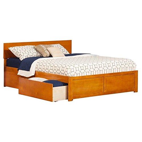 - Leo & Lacey Urban Queen Storage Platform Bed Carmel