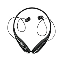 AGPtek®Sport Bluetooth V4.0 Headset Stereo Music for Samsung Galaxy S5 Note 3 S4 S3 S2 Iphone5S Iphone5-Black