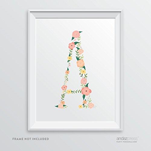 Coral Floral Print - 5