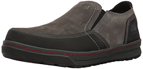 Caterpillar Men's Valor Steel Toe Work Shoe, Dark Shadows, 9.5 M US