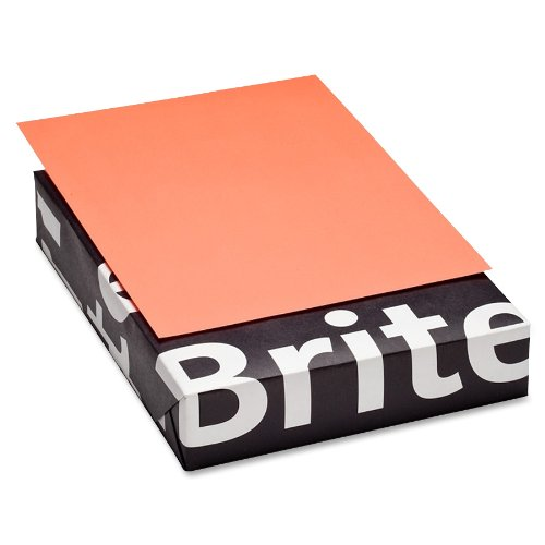 Mohawk BriteHue Ultra Lava 20 lb/75 gsm Vellum Text Paper, 8.5 x 11 Inch, 500 Sheets/Ream - Sold as 1 Ream (185161)