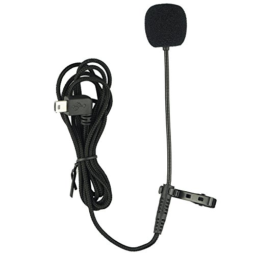 Original SJCAM Accessories External SJCAM Microphone MIC Long Cord with Clip for SJCAM SJ6 Legend /SJ7 Star /SJ360 Sports Camera